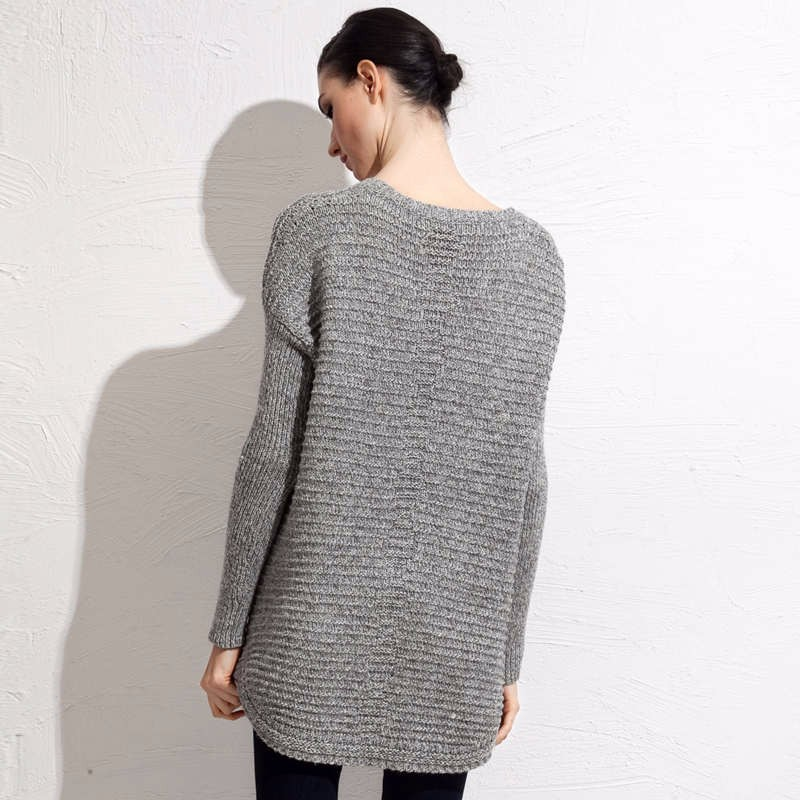 Wool Blends fall mid length sweater 6