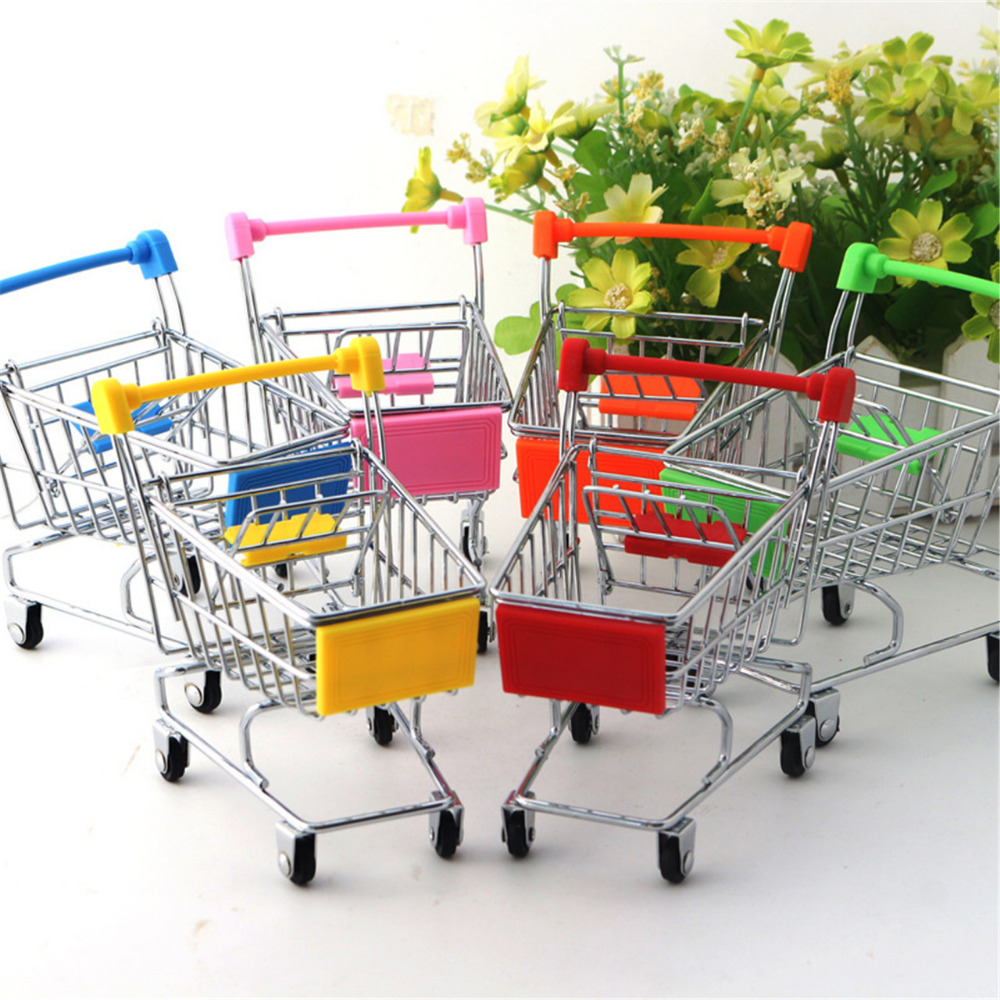 office trolley cart. Creative Mini Chrome Plated Trolley Storage Box Phone Pen KidsTools Organizer Shopping Cart Office Home Kitchen Collect Tools #3-in Boxes \u0026 Bins