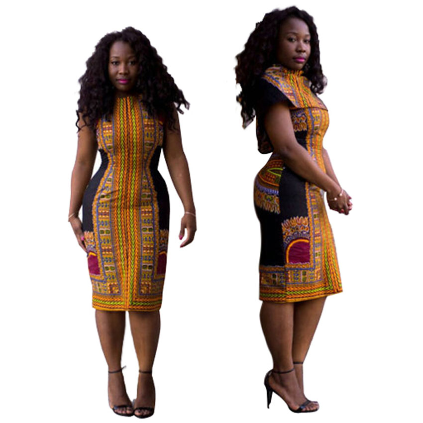 Robe Africaine: Dashiki African Dresses For Women Bazin Riche Traditional