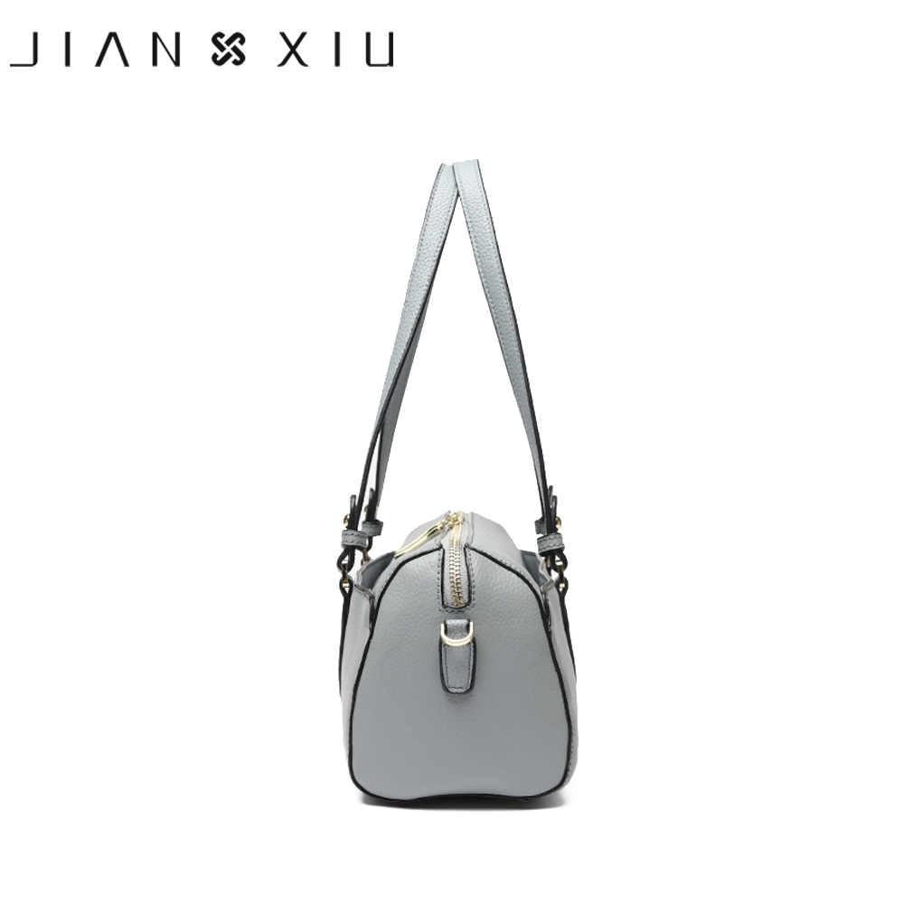 JIANXIU брендовые сумки из натуральной кожи роскошные женские сумки дизайнерские модные сумки-мессенджеры маленькая сумка на плечо два цвета