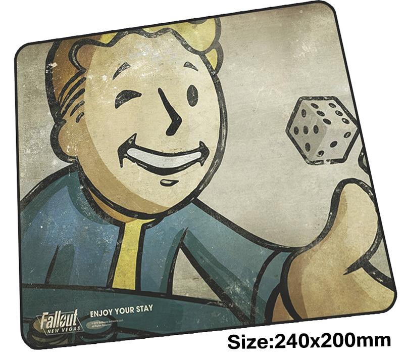 Fallout коврик для мыши gamer 240x200 мм notbook коврик для мыши Закрытая край игровой коврик для мыши Большой высокого класса коврик для мыши PC стол padmouse