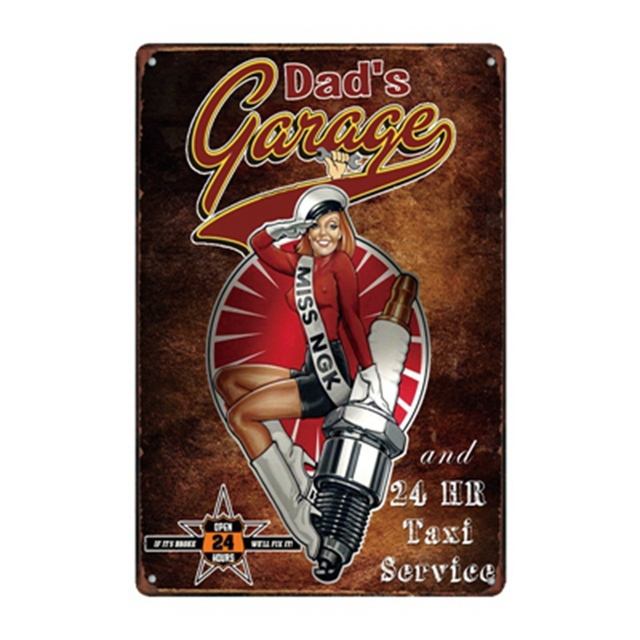 Series of Route 66 Tin Sign 4