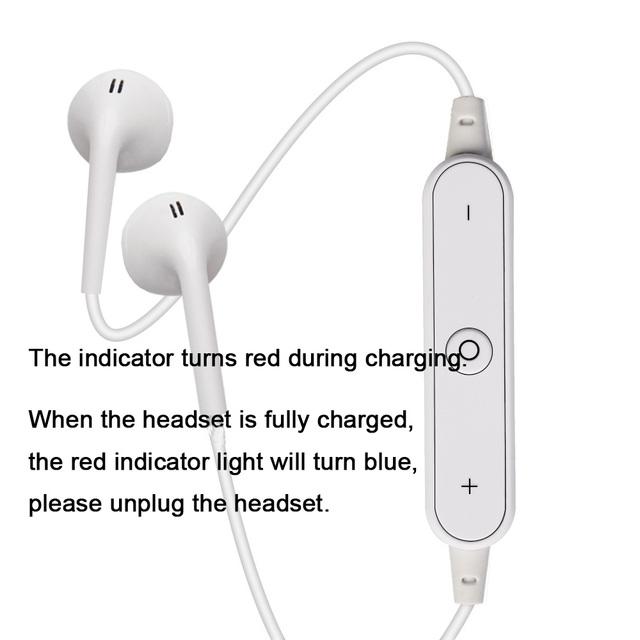 S6 Wireless Headphone Bluetooth Earphone Headphone For Phone Neckband sport earphone Auriculare