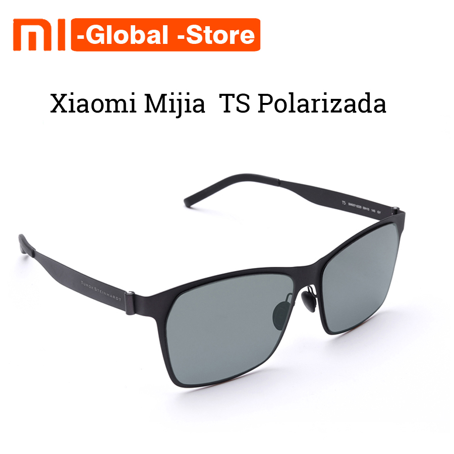 2018 Newest Original Xiaomi Mijia Customization Ultra thin Lightweight TS Nylon Polarized Sunglass Designed For Outdoor Travel