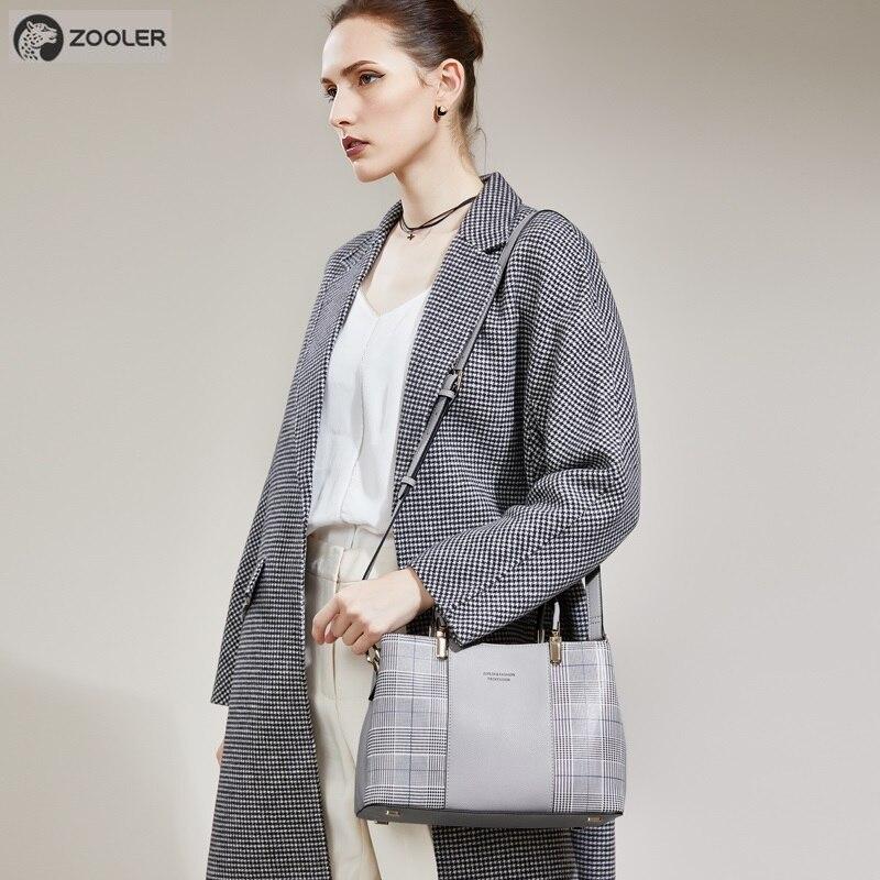 ZOOLER 2019 sac pour femme haute qualité véritable sac à main En Cuir sacs à bandoulière marque de luxe femmes sac à main designer fourre-tout bolsos # h161