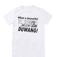 [XHTWCY] Men's Duwang T Shirt Autumn High Quality Beautiful Man JoJo Bizarre Adventure T Shirt