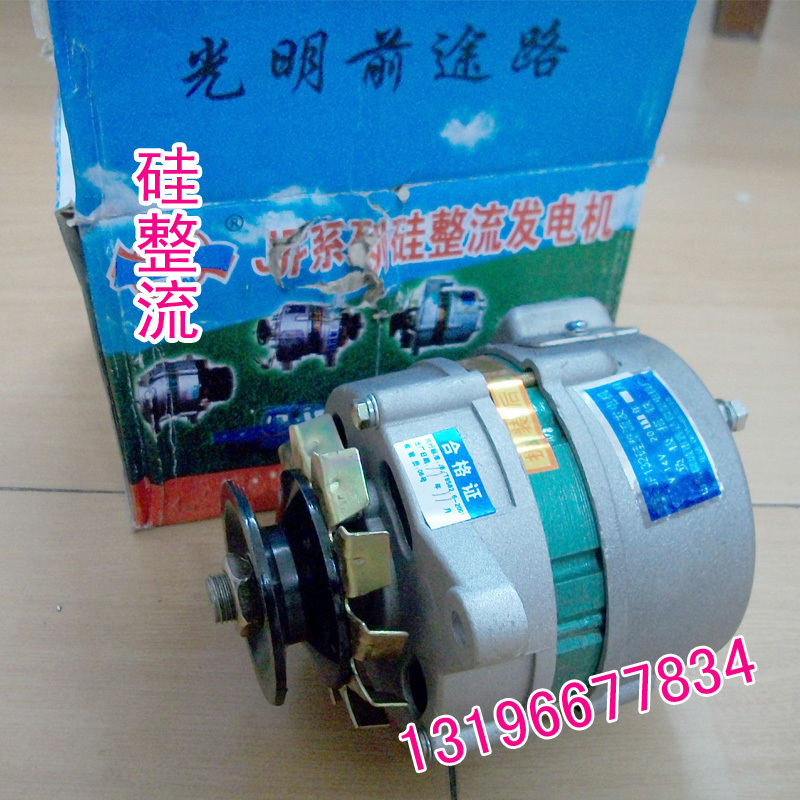 Pulley type miniature small AC/DC silicon rectifier generator power 14v500w voltage regulator цена
