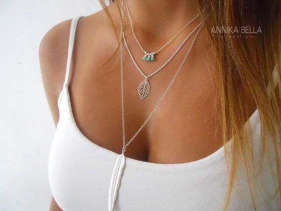 silver gold color leaf feather neklace women long tassel necklace fashion crystal jewelry maxi necklace collier bijoux femme