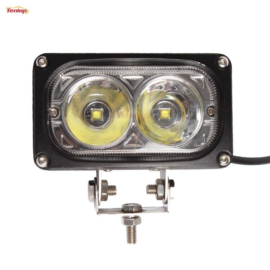 Light Sourcing 10PCS 5.5 Inch 30W Headlight For ATV Truck Offroad 12V 24V light sourcing the newest type 6 3 inch 60w cree tuning light black red for offroad atv suv wrangler truck 12v 24v