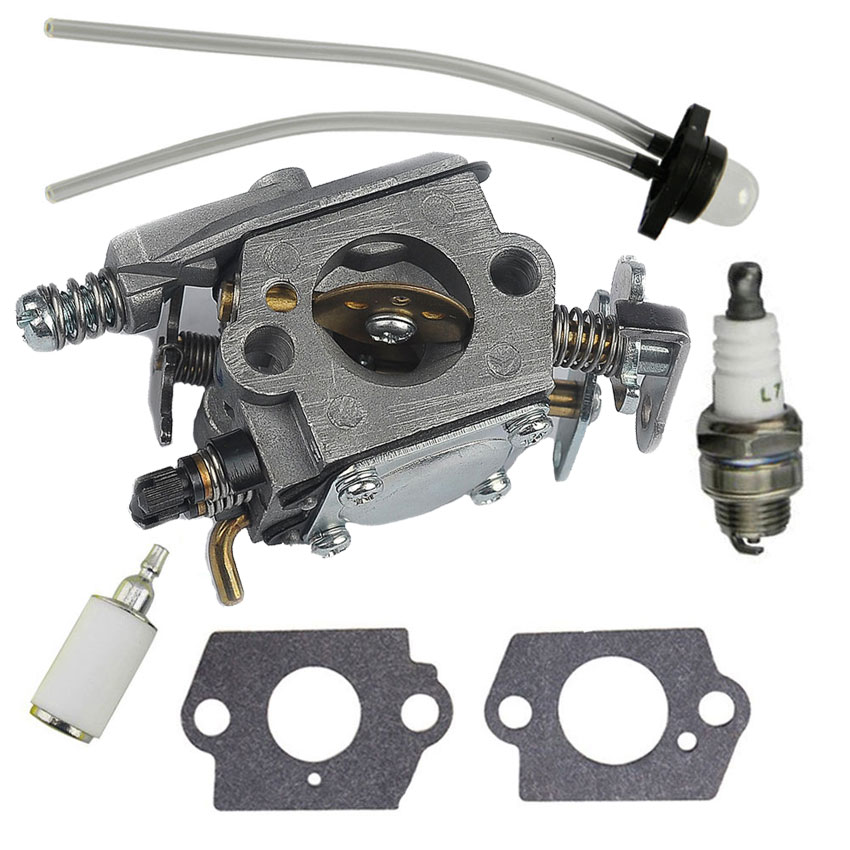 Carburetor Fuel Filter kit For Walbro WT-891 WT-89 WT-324 WT-391 Trimmer #530069703 530035343 530071620 545006058