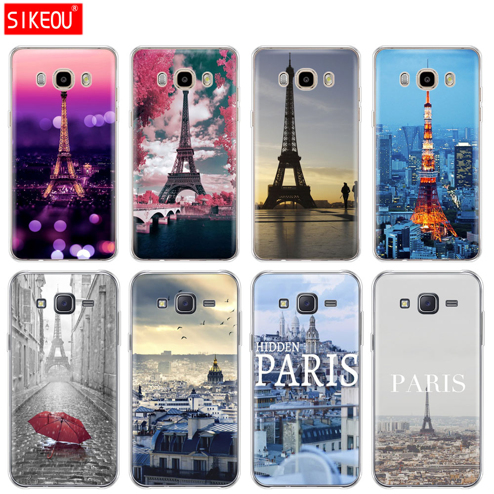 Silicone Cover Phone Case For Samsung Galaxy J1 J2 J3 J5 J7 Mini 2016 2015 Prime France Paris The Eiffel Tower Fitted Cases Aliexpress