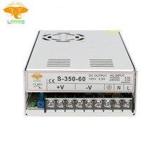 Источник питания 350 Вт 60 в одиночный выход питания 350 Вт/60 в для Nema34 фрезерный станок с ЧПУ фрезерный станок лазерный гравер принтер LONGS мотор