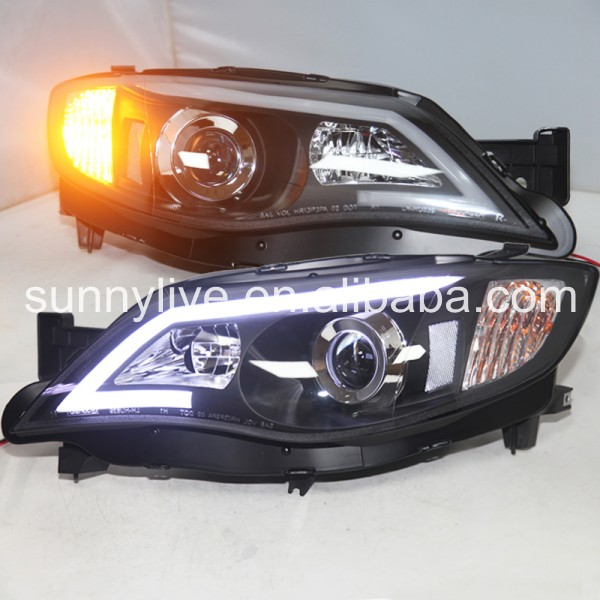 For Subaru Impreza WRX 2008-2010 year LED Head Lights JY subaru traviq главный тормозной