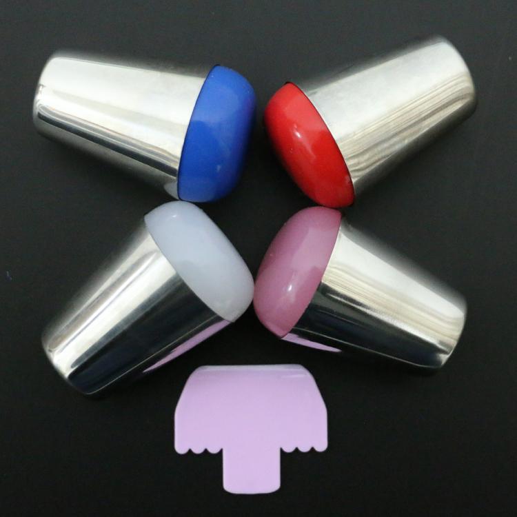 Nuevo 4 Unids/lote Muy Suave Pegajosa 4 cm Malvavisco Grande Jalea de Uñas Estam
