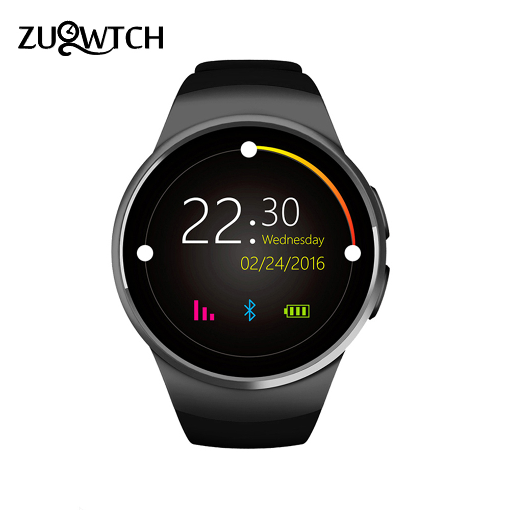 Smart Watch Bluetooth Watch Heart Rate Tracker Passometer Heart Rate Watch Phone Smart SIM Card Smartwatch for IOS Android Phone