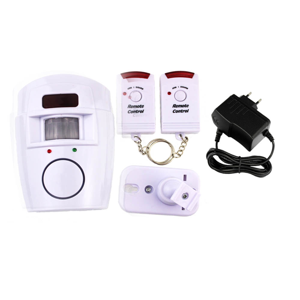 Topvico Wireless Movement Sensor PIR Infrared Motion Sensor Alarm Detector Door Window Anti-Theft Home Alarm Security Systems home alarm security system wireless pir infrared motion sensor detector with 2pcs remote controllers door window anti theft