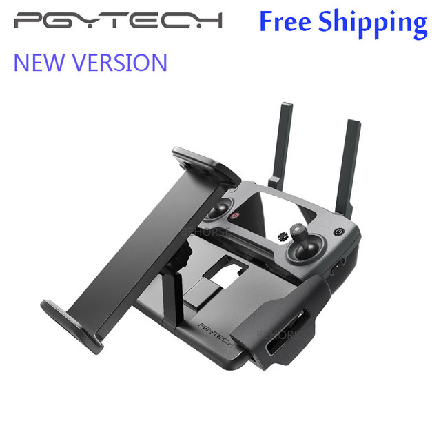 PGYTECH DJI Mavic 2 Pro/Zoom Tablet Pad Holder Mavic Air/Pro/Spark Remote Control Monitor Bracket Mount for iPad Phone