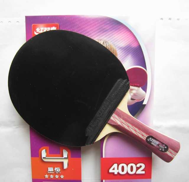 93f68c642 placeholder Original 4002 pcs DHS 4006 raquetes de tênis de mesa com 4  estrelas espinhas em borrachas