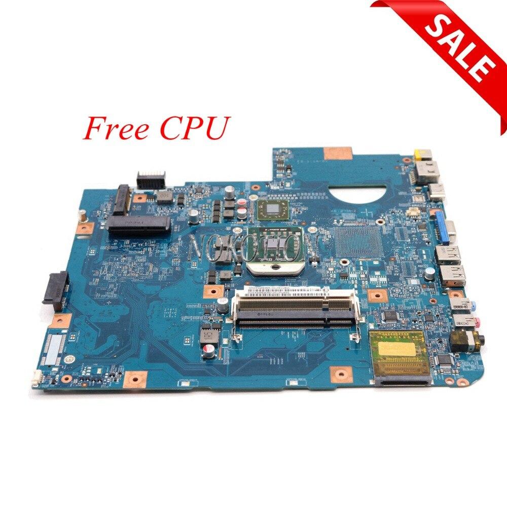 NOKOTION Laptop Motherboard For Acer aspire 5542 MBPHA01001 48.4FN01.011 216-0752001 DDR2 Free cpu MAIN BOARD full work nokotion laptop motherboard for acer aspire 5542 main board mbpha01001 48 4fn01 011 216 0752001 ddr2 free cpu