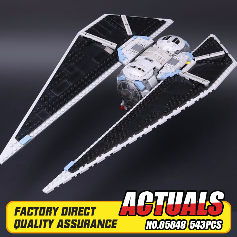 ФОТО New Lepin 05048 543Pcs Star War Seiers The TIE Striker Building Blocks Bricks Toys Compatible with 75154