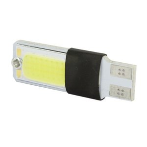 10 шт. лампада Led Cob Pingo T10 + forte Branca Farol Frete Lateral do marcador лампа luz de lanterna,farolete,placa,luz de painel