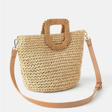 Women Summer Straw Bag Hand Made Rattan Shoulder Boho Travel Shopping Beach The New Basket For Handbags