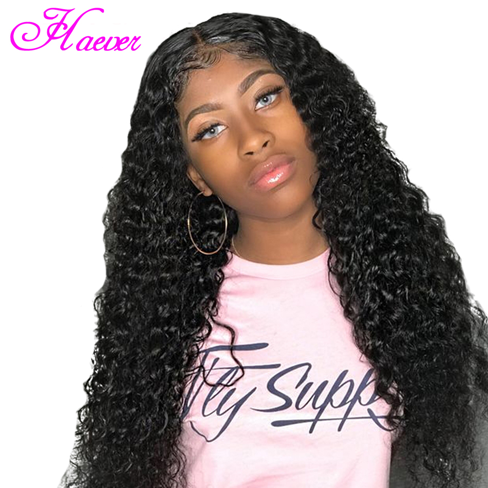 150% Density Wig Lace Front Human Hair Wigs Deep Wave Peruvian Remy Wig Bleached Knots Pre Plucked Thick Ends(China)