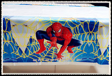 Spiderman Style Tablecloth