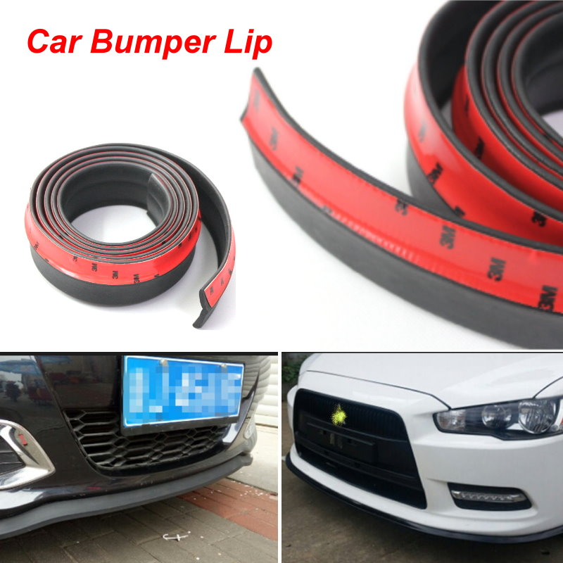 For Mitsubishi Magna / Bumper Lip / Front Spoiler Deflector For Car View Tuning / Body Kit / Strip Skirt / Anti-Scratch Stickers