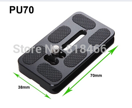 10pcs Universal PU70 pu-70 DSLR Camera Quick Release Plate For Benro B1 B2 J0 J1 Ball head Camera Photo Studio Accessories