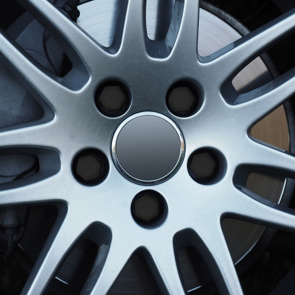 Silicone Car Wheel Hub Screw Cover Nut Caps Bolt Rims Protection For Subaru XV Forester Outback Lmpreza Justy Legacy Tribeca XV