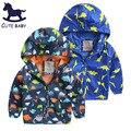 Tudo para as crianças Roupas e acessórios jaquetas para meninos criança-casaco 2-4A Jaqueta Meninos das crianças dos desenhos animados brasão 5-7A