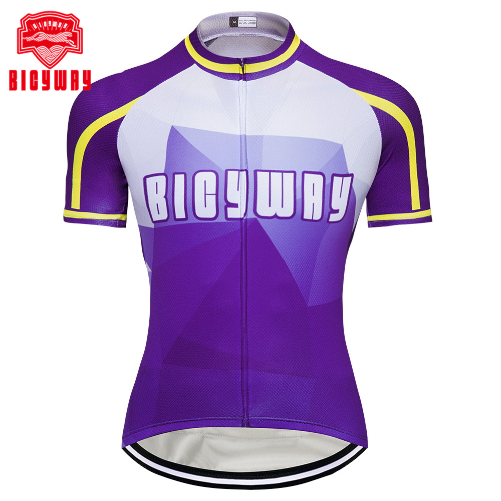 5a9490ebe Bicyway 2018 Hot Men Cycling Jersey Team Road Bicycle Clothing Bike Wear  Clothes Ropa Ciclismo Short