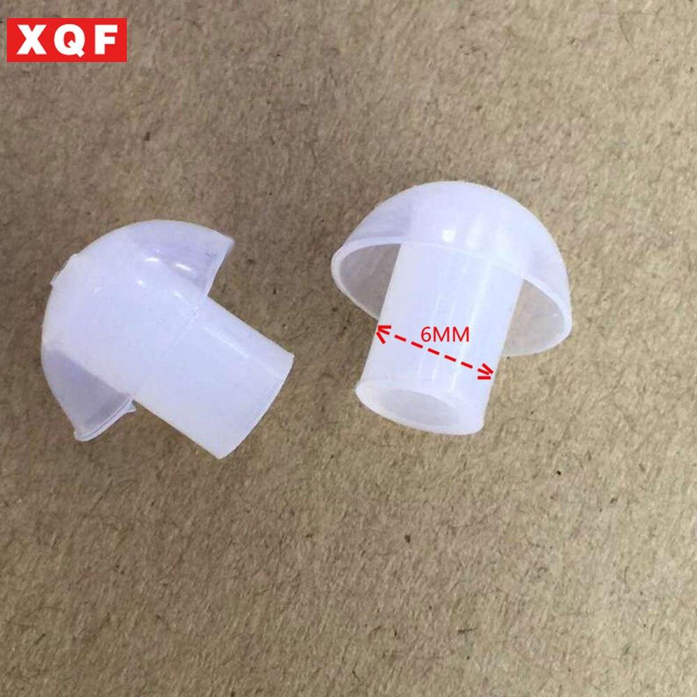 XQF 50 PCS remplacement Silicone Intra-auriculaires oreille conseils pour baofeng deux voies tube acoustique radio écouteur écouteur air tube casque