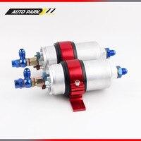 For dual fuel pump 0580 254 044 high flow pump with dual bracket 044 pump Gasoline external pump AN6