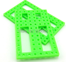 10pcs Green Shutters/ frame /diy small production technology/science model toy building materials/toy accessories