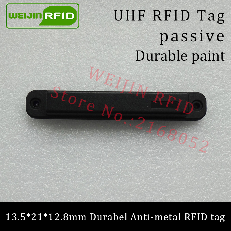 UHF RFID anti-metal tag 915mhz 868mhz Higgs3 EPCC1G2 6C 13.5*21*12.8mm durable ABS stocking shelves smart card passive RFID tags uhf rfid metal tag 915mhz 868mhz alien higgs3 epcc1g2 6c 53 13 2 8mm fixed assets management pcb smart card passive rfid tags