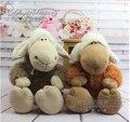 wholesale 35 cm NICI plush sheep toys with wolf skin  soft plush toy doll child gift