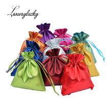 7x9cm 100pca/lot Satin Drawstring Gift Packing Bags Organza Gifts Pouches For Jewelry Candy Party Favor Holder Bag Pouch