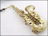 dhl Free shipping Selmer / Alto saxophone instruments R54 Eb flat bronze