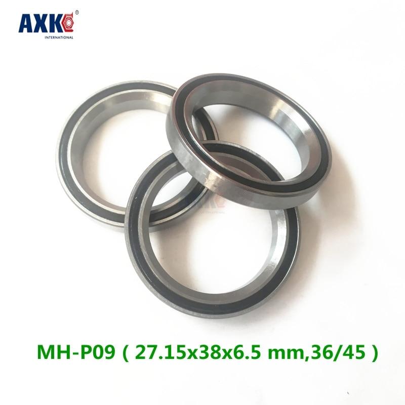 Free Shipping 1 Bicycle Headset Repair Bearing Mh-p09 ( 27.15x38x6.5 Mm,36/45 ) Mh-p09k Bearing 1 1 2 1 5 38 1mm bicycle headset bearing mh p16 acb4052 th 070 40x52x7mm 45 45 repair bearing