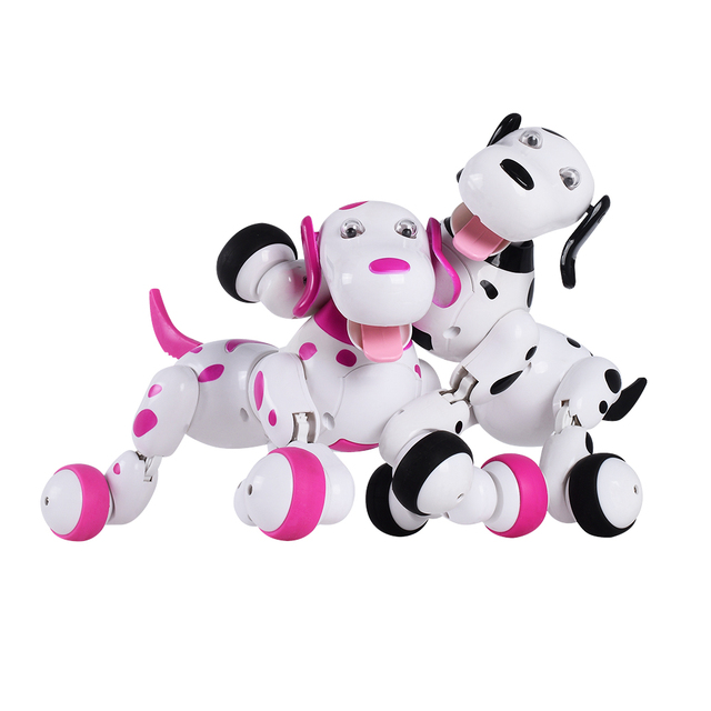 2 4G 777 338 Wireless Remote Control Smart Dog RC zoomer dog Electronic Pet Children s
