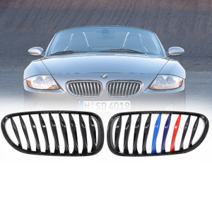 2.0i 2.2i 2.5i 2.5si 3.0i 3.0si high quality e86 black grill for BMW 2003 - 2008 Z series Z4 E85 front bumper car styling grille
