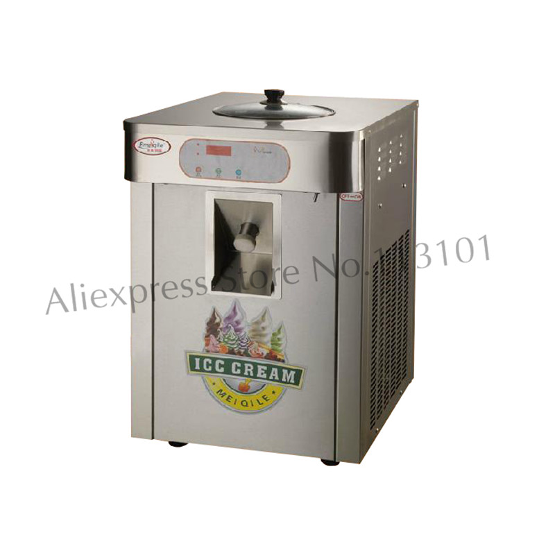 Desktop Gelato Machine Stainless Steel Hard Ice Cream Maker 220V Free Shipping to Yiwu Zhejiang Province China stainless steel axle sleeve china shen zhen city cnc machine manufacture