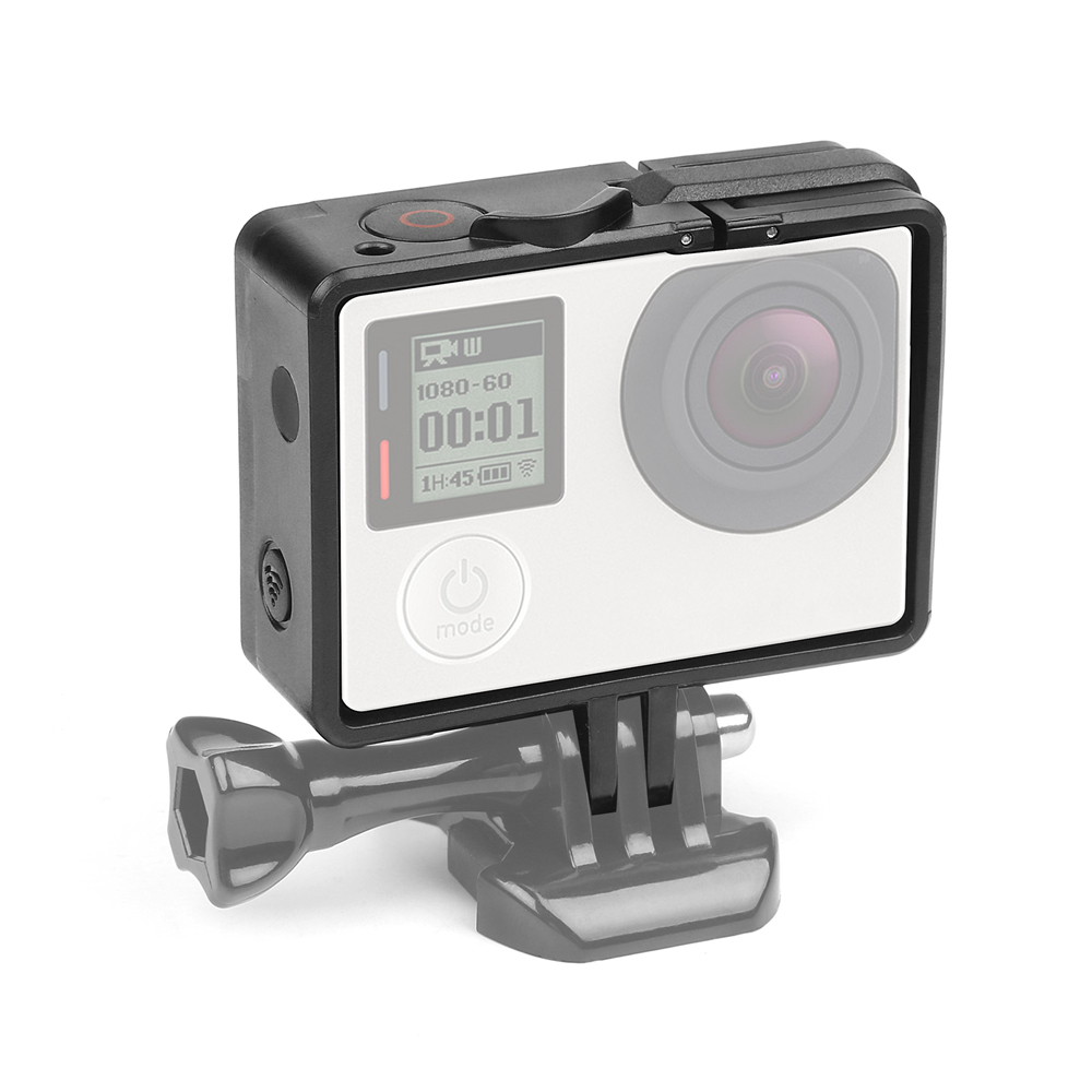 SHOOT Standard Border Frame Case for Gopro Hero 4 3 Action Camera Go Pro Mount Protective