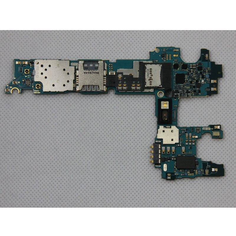 imágenes para Placas Lógicas completa para Samsung Galaxy Note 4 N910V Motherboard con Patatas Fritas, Origina desbloqueado para Nota 4 N910V Mainboard