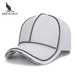 f96ea13cdfc SAN VITALE Women Baseball Cap Hats Rose Snapback Hip Hop