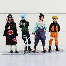 Naruto Kakashi Sasuke Action Figure (4pcs/lot 12cm )