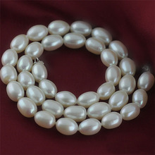 Natural Freshwater Pearl Necklace Gift for Mother Precious oval White Pearl Jewelry Choker Necklace Women