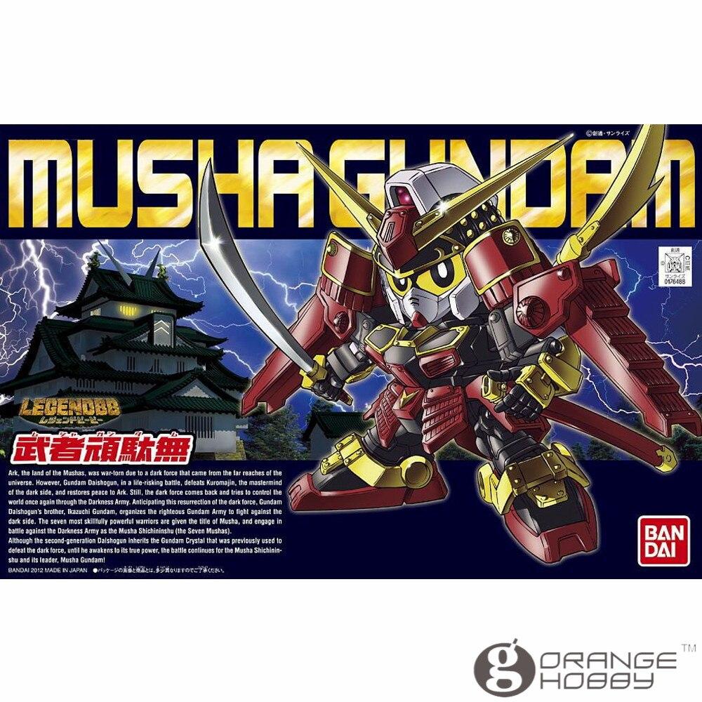 OHS Bandai SD BB 373 Q-Ver Musha Legend Gundam Mobile Suit Assembly Model Kits oh bandai bandai gundam model sd q version bb 309 sangokuden wu yong bian xiahou yuan battle